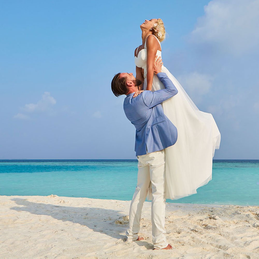 Dream Island Wedding Hurawalhi Maldives