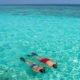 Snorkelling Hurawalhi Maldives
