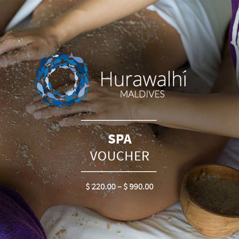 Spa voucher Hurawalhi Maldives
