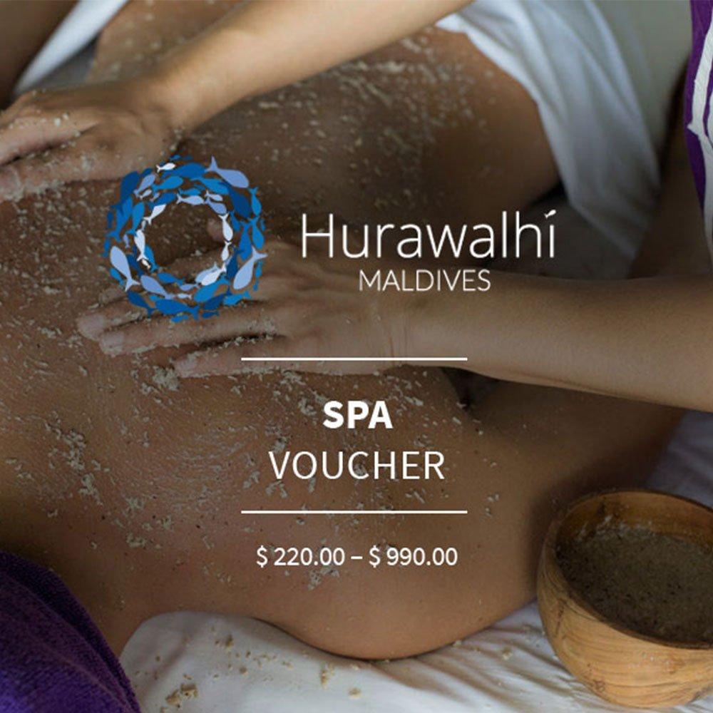 Spa voucher Hurawalhi Maldives